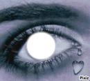 oeil qui pleur