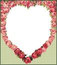 coracao de rosas