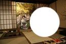 Japanese tea room frame