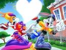 Lola Bunny end Bugs Bunny