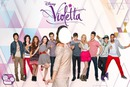 Yo y el elenco de Violetta