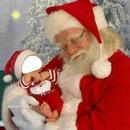 bébé père Noel