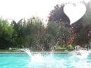 saut dans une piscine <3