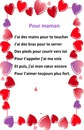 poème pour maman