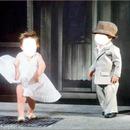 garçon et fillette marylin