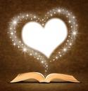 livre et coeur