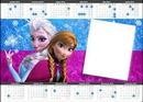 calendário da frozen