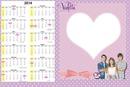 Calendario violetta
