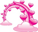 nuage coeurs laly