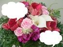 bouquet fleurs 2 phots