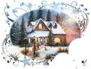 Paysage de Noël