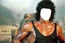 Visage de John Rambo