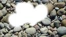 Coeur sur pierre