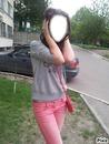 Kate in Yard