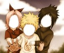 Naruto Sakura y Sasuke De Niños