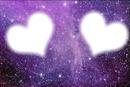 cadre deux personne coeur