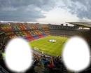 Le stade de Barcelonne.
