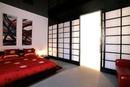 bedroom asian door frame