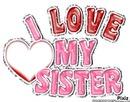 I love ma soeur