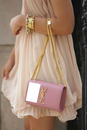 Yves Saint Laurent Pale Pink Bag