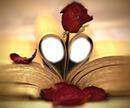 livre coeur rose