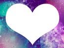 Coração AND Galaxy <3 #Love