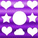 Corazon,Estrella,Nube y Circulo