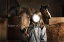 poney et fillette