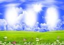 tavaszi táj 3 kép