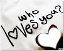 who loves you? <3