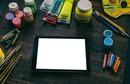 tablet y pintura