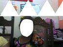 Foto de cara y triangulos
