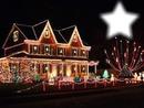 maison décorée Noël