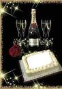torta e champagne
