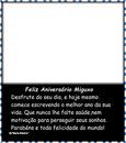 """Niver do Meu Migo! By """"Maria Ribeiro"""""""