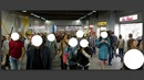 PARIS métro 8 pers