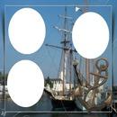 cadre bateau 3 photos