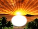 Lever du soleil-aube