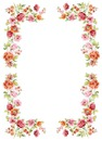 Flower frame oval 1
