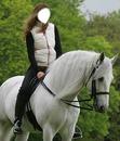Sur un cheval blanc...