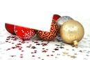 Boules de Noël et étoiles