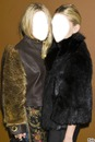 Mary-Kate et Ashley Olsen Visage