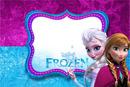 Frozen Roxo e Azul