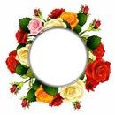 circulo de flores