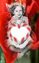 SHIRLEY TEMPLE WITH CANDY HEART