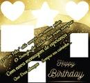 FELIZ ANIVERSARIO = Happy Birthday