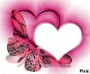 corazones y mariposas