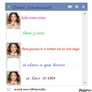 chat falso de martina stoessel