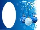 blue and white ornaments