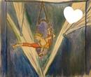 L'acrobate peint par Gino GIBILARO